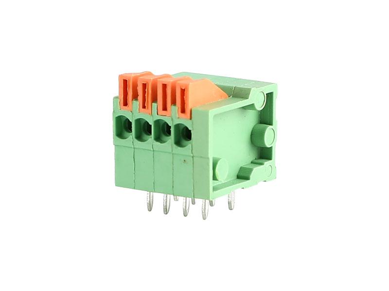 MG141R-2.54<br> PCB SPRING TERMINAL BLOCK