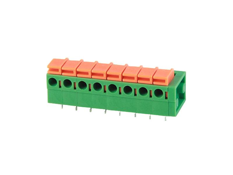 MG142R-5.08/7.62<br> PCB SPRING TERMINAL BLOCK