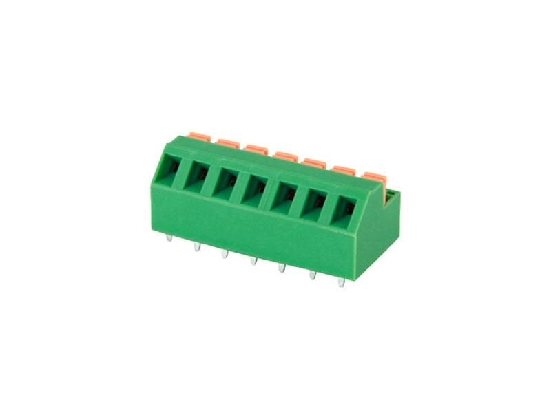 MG237-5.08<br> PCB SPRING TERMINAL BLOCK