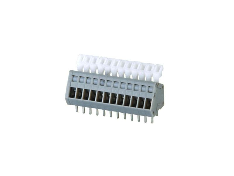 MG240-2.5/2.54<br> PCB SPRING TERMINAL BLOCK